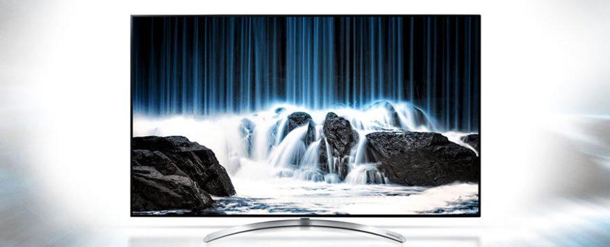 قیمت و خرید تلویزیون 4K ال جی مدل 55SJ850V