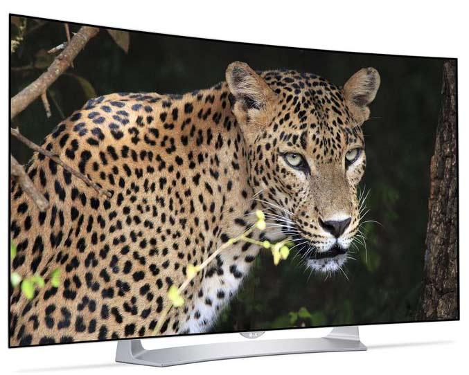 خرید تلویزیون منحنی سه بعدی ال جی مدل 55EG910
