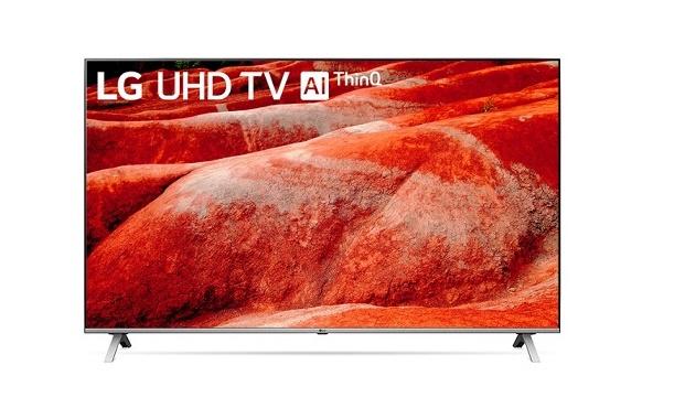 قیمت تلویزیون ۵۵ اینچ ۴K ال جی مدل ۵۵UN8060 | UN8060