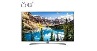 قیمت تلویزیون 43 اینچ 4K ال جی مدل UJ69000 | 43UJ69000